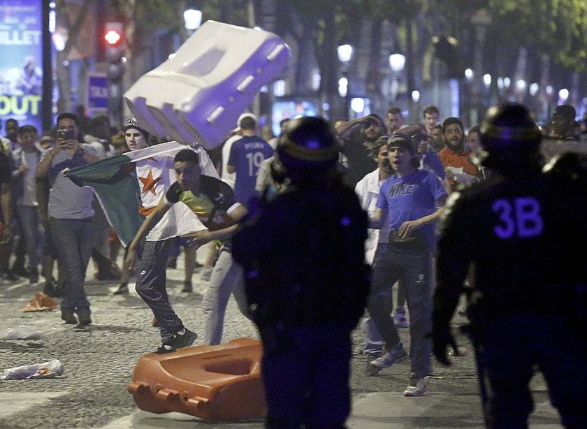Awantury w trakcie finału Euro 2016