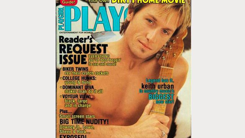 Mąż Nicole Kidman, Keith Urban, ma na swoim koncie rozbierane sesje