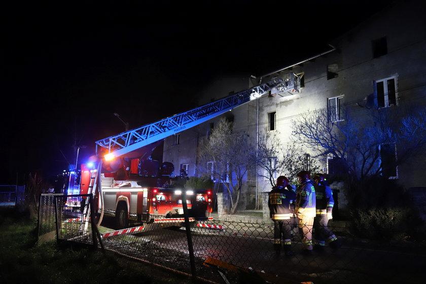 Tragiczny pożar w Nadziejowie