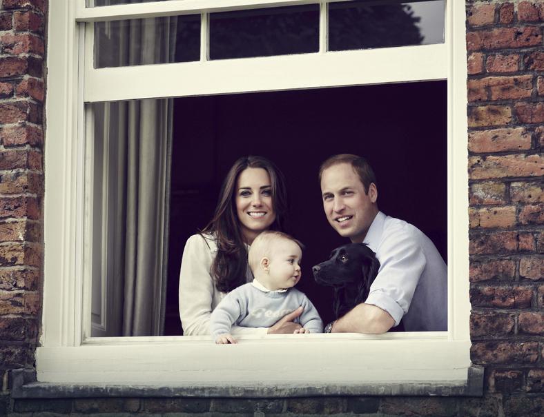 Tak wygląda 9-miesięczny syn Kate i Williama