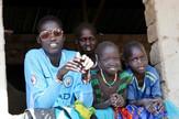 Južni Sudan deca AP