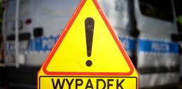 Koszmarny wypadek w Lubuskiem. Ranne trzy osoby