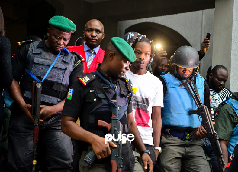 His arraignment for a long time, will go as the most televised and talked about in the Nigerian pop culture tales.[Pulse]