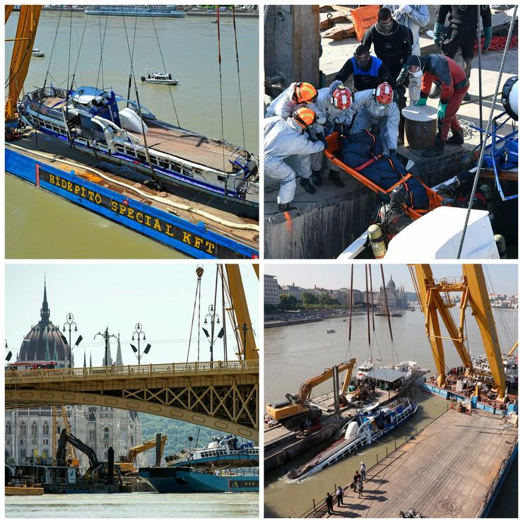 Izvlačenje broda, Dunav, Budimpešta