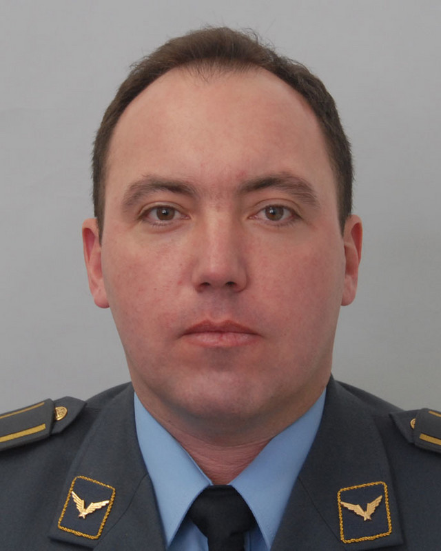 Pilot major Dejan Krsnik
