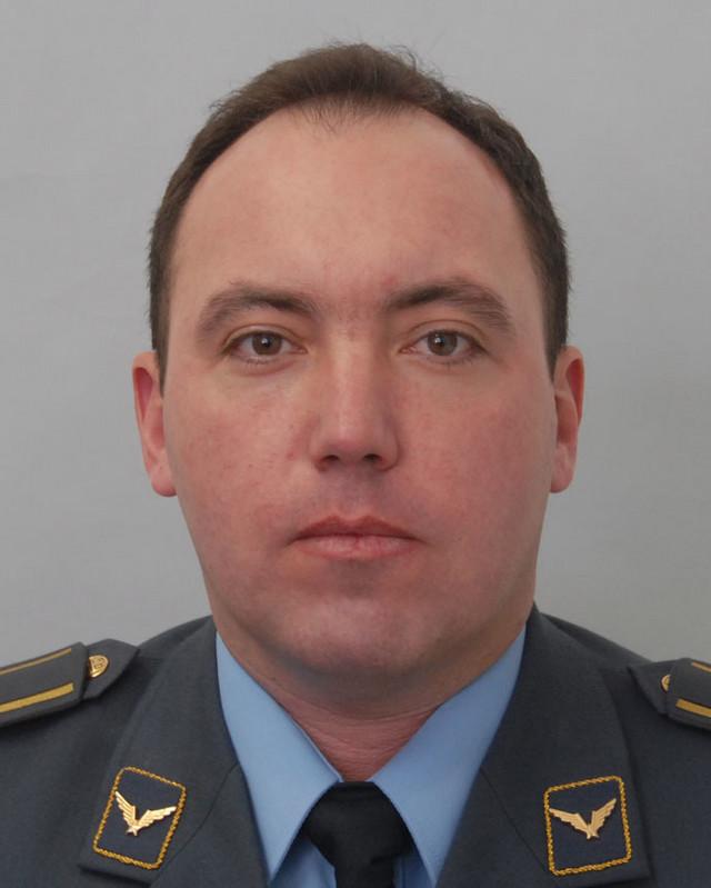 Pilot major Dejan Krsnik