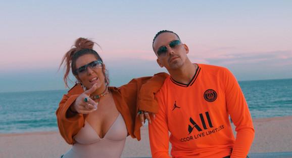 Senidah i Raf Kamora  - fotografija iz spota