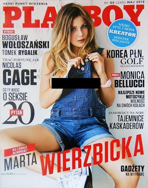 """Marta Wierzbicka na okładce """"Playboya"""""""