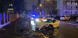 Pijany kierowca rozbił nowiutkie porsche z wypożyczalni