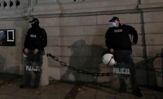 Lewica chce zmian w ustawie o policji, które ułatwiłyby identyfikację funkcjonariuszy
