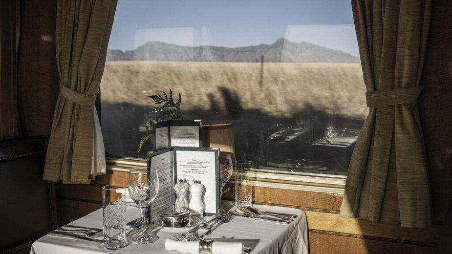 Luksusowy Niebieski Pociąg w RPA (The Blue Train)