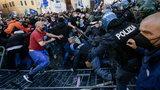 Protest restauratorów w Rzymie. Ranny policjant, kilka osób zatrzymanych