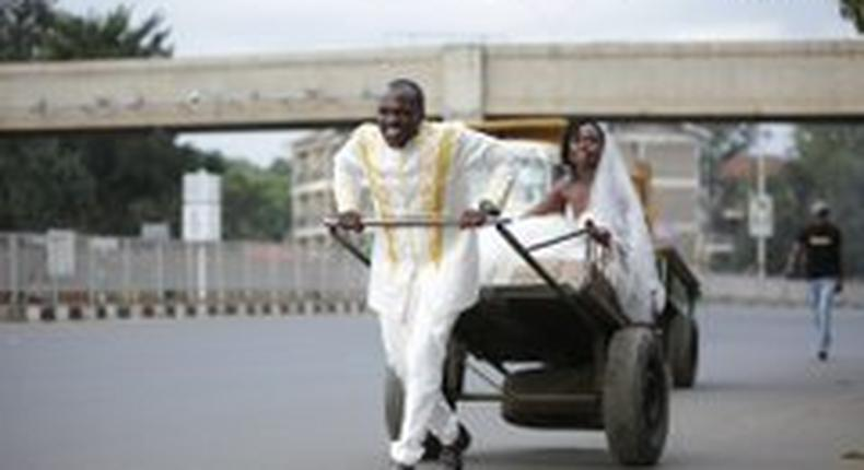 Musician Miriam Ayoo weds Sam Sonko in simple wedding presided over by ex Chief Justice Willy Mutunga