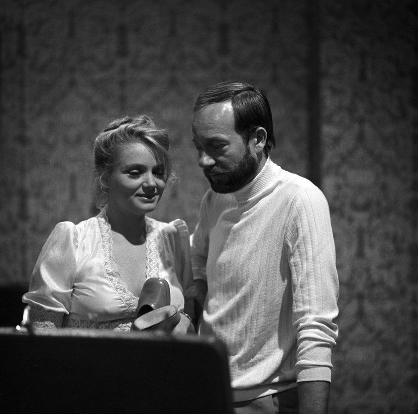 Anna Seniuk i Jerzy Kamas