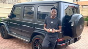 Ahmed Musa shares a photo of one of his cars on social media (Instagram/Ahmed Musa)
