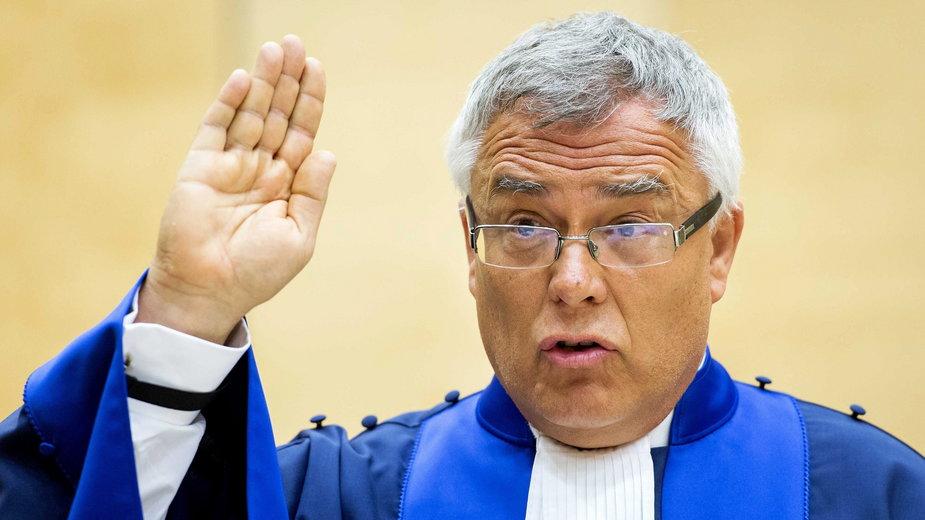 Sędzia Piotr Hofmański (fot.), nowo wybrany prezydent Międzynarodowego Trybunału Karnego w Hadze