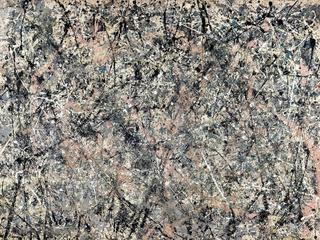 Lavender Mist: Number 1, 1950 (oil, enamel & aluminium paint on canvas)