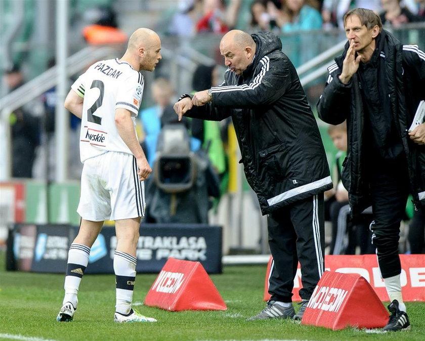 Agent byłego trenera Legii atakuje prezesa klubu