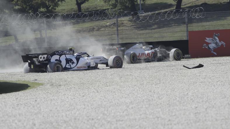 Pierre Gasly i Romain Grosjean