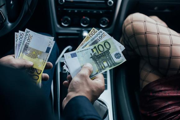 Prostitucija, ilustracija