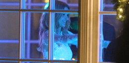 W tej sukience Koroniewska wzięła ślub