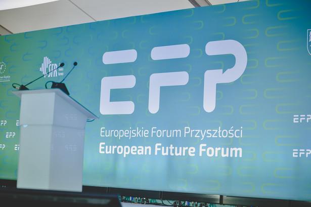 pierwsza edycja Europejskiego Forum Przyszłości