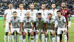 Algeria will seek a third Cup of Nations title in Cameroon next year having won the tournament in 1990 and 2019 Creator: FRANCOIS LO PRESTI