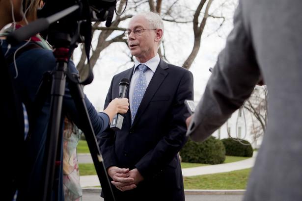 Herman Van Rompuy, przewodniczący Rady Europejskiej