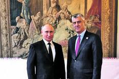 Hašim Tači sa Vladimirom Putinom