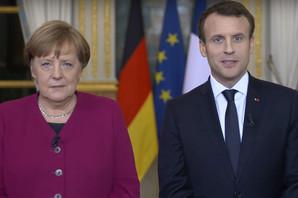 """""""OSOVINA EU JE I DALJE JAKA"""" Merkel i Makron potpisuju sporazum o JAČANJU nemačko-francuskih odnosa"""