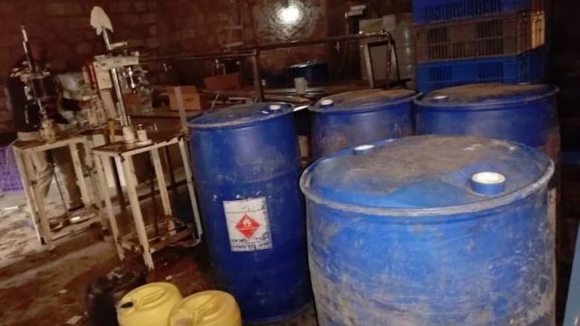 Four arrested as detectives raid illegal alcohol brewing plant in Nairobi