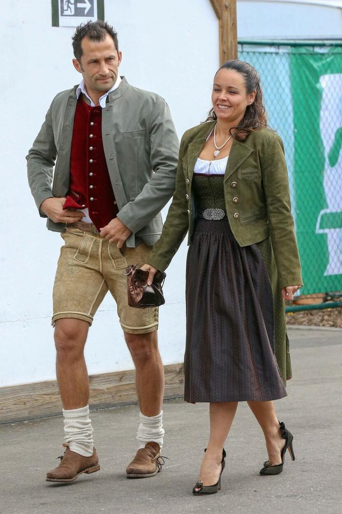 Poznati par na Oktoberfestu prošle godine u Minhenu