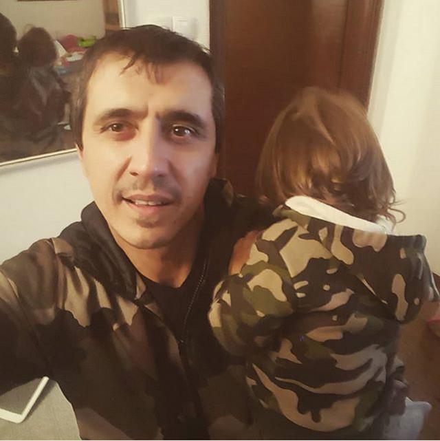 Marko Bulat sa ćerkom Doroteom