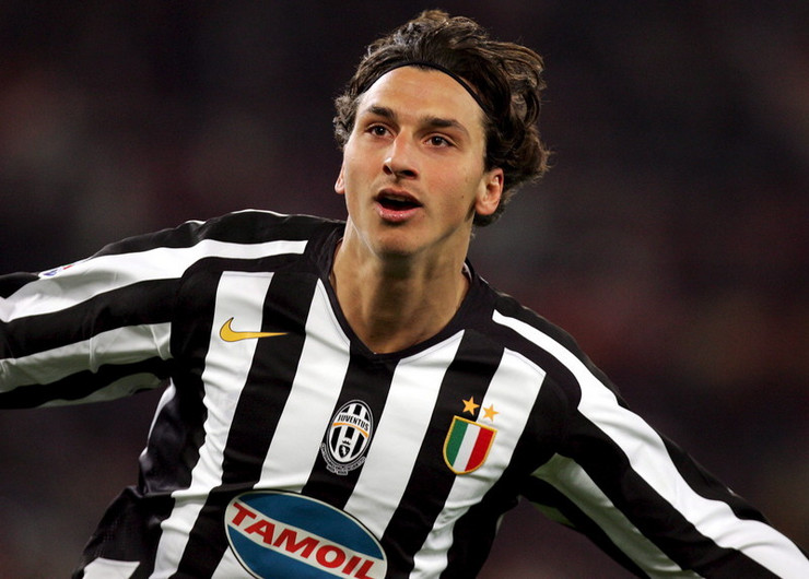 Zlatan Ibrahimović u dresu Juventusa 2005. godine