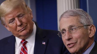 Trump says Fauci has 'nothing to do with' football after the infectious disease expert said the NFL should adopt 'bubble' protocol to restart games