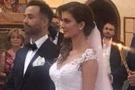 VENČANJE U CRKVI SVETOG MARKA Voditeljka Adriana Čortan se udala za biznismena, venčanica će ODUŠEVITI ŽENE