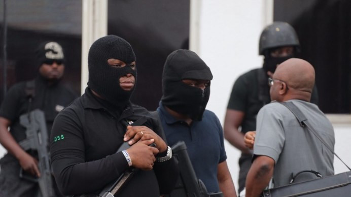 Masked operatives of the Department of State Services (DSS) took over the National Assembly in August 2018 for undisclosed reasons, leading to the dismissal of then-Director General, Lawal Daura