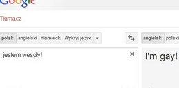 Uważaj na tłumacz Google!