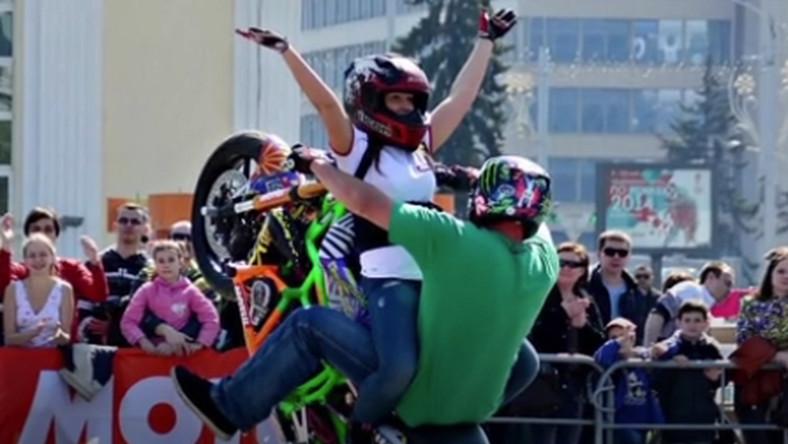Para na motocyklu