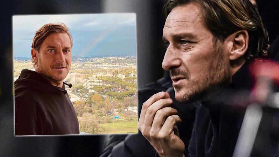 Francesco Totti ostrzega przed koronawirusem na Instagramie (zdj. po lewej - Instagram)