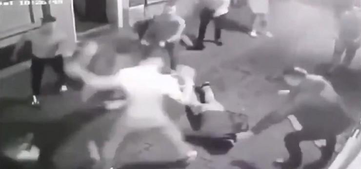Tuča u Novom Sadu