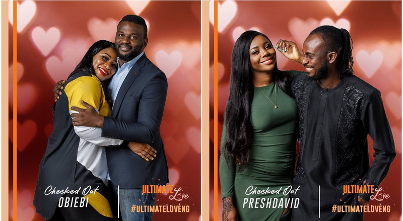 Ultimate Love: ObiEbi and PreshDavid check out of reality TV show