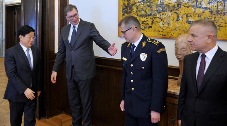 Aleksandar Vučić i Dao Kedi