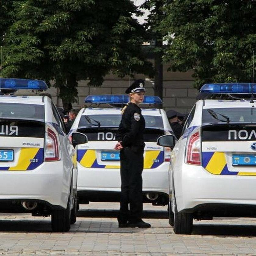 Policja wyszła na ulice Kijowa