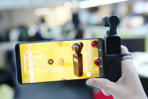 DJI Osmo Pocket se može koristiti i sa telefonom