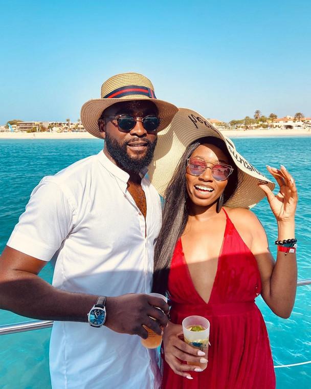 Gedoni and Khafi were housemates in the fourth season of Big Brother Naija. [Instagram/Gedoni]