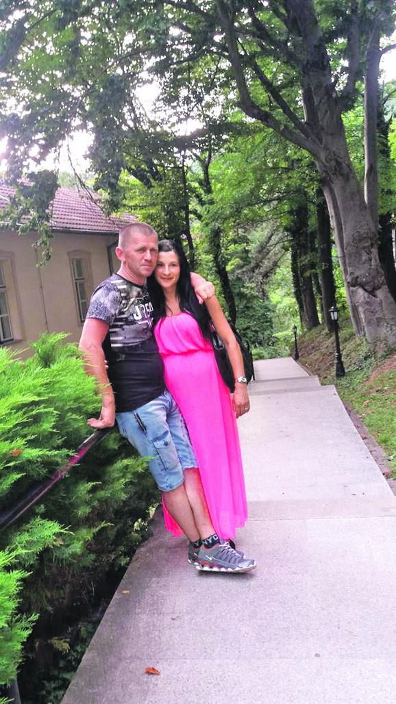 Suzana Bogdanović sa suprugom
