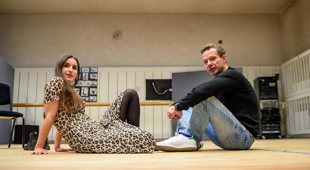 """Próba do spektaklu """"Kilka dziewczyn"""" w Teatrze Narodowym, fot. Tomasz Urbanek, East News"""