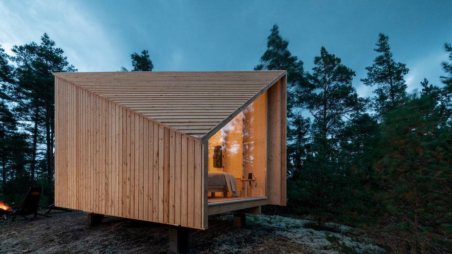 Modułowy dom z drewna