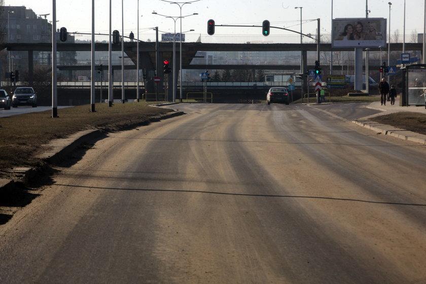 Drogi w Gdańsku zimą są czyszczone bardzo rzadko. Oto efekt